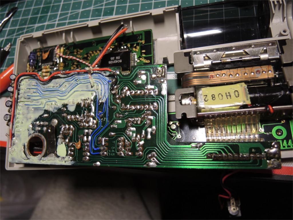 Ремонт устройства хранения и печати заметок Sharp Memowriter EL-7000 после протечки аккумуляторов - 8
