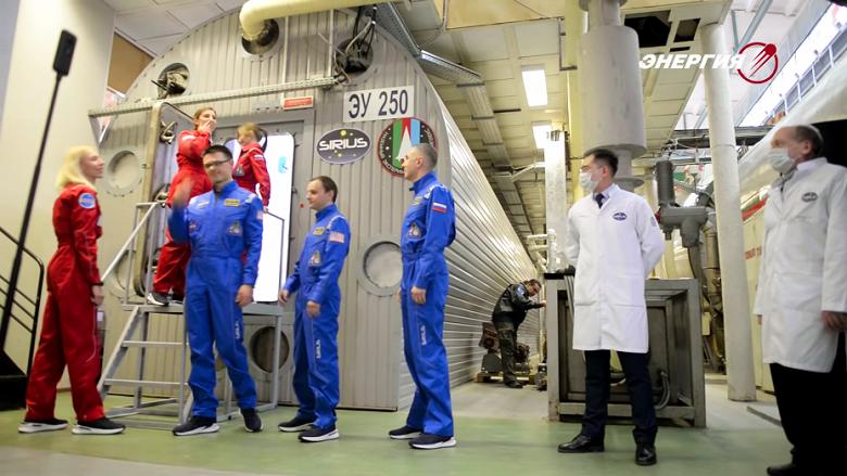 В России создают космическую стиральную машину