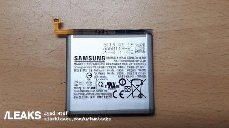 Samsung Galaxy A80 (Galaxy A90) получит аккумулятор емкостью 3700 мА•ч
