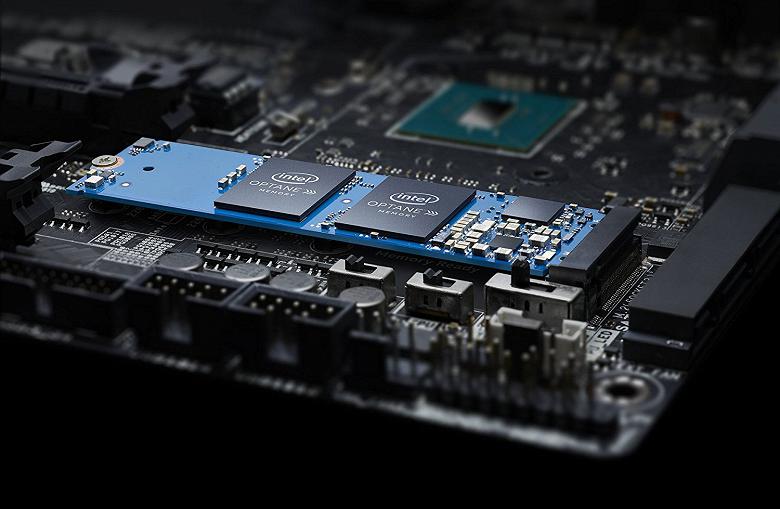 Накопители Intel Optane теперь можно использовать и с бюджетными процессорами Celeron и Pentium