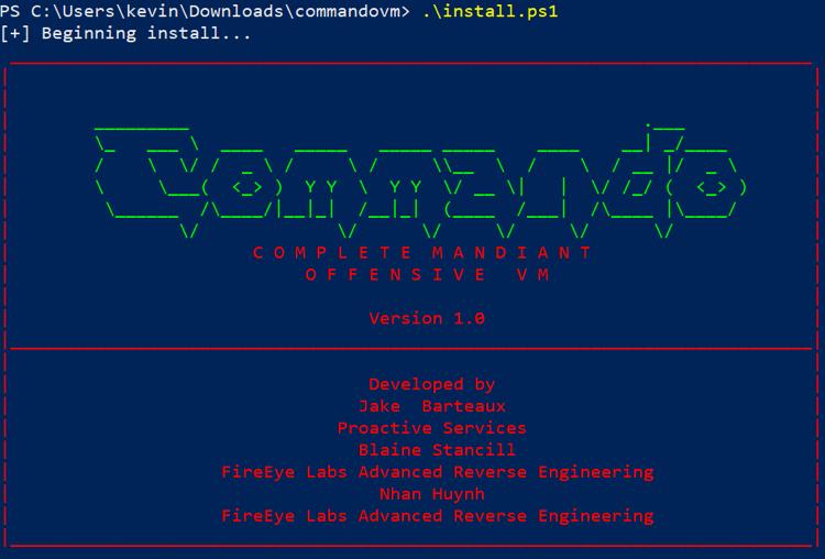 Commando VM — альтернатива Kali Linux для Windows - 2
