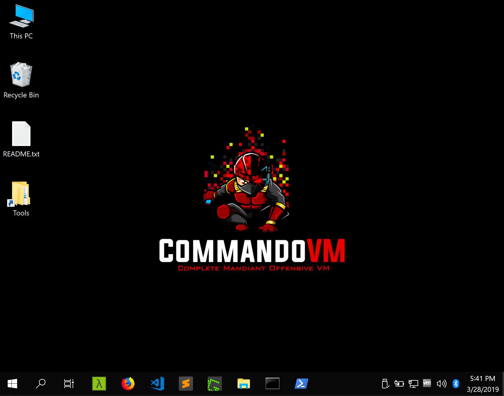 Commando VM — альтернатива Kali Linux для Windows - 3