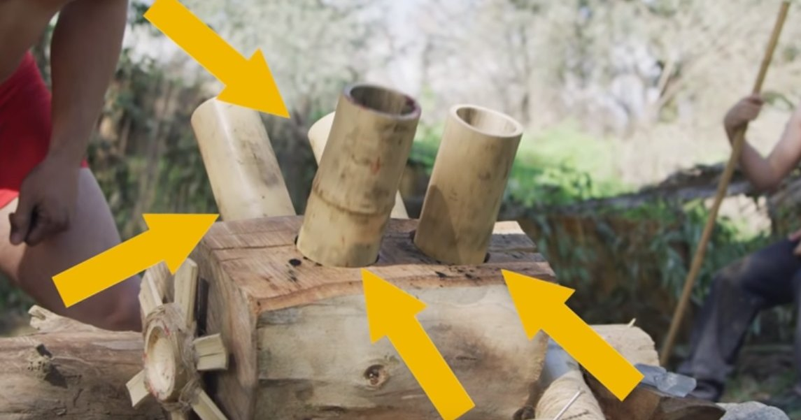 Как сделать работающий двигатель из дерева