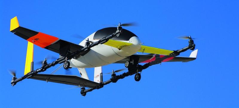 Зеленоглазое, воздушное: когда такси поднимется в небо