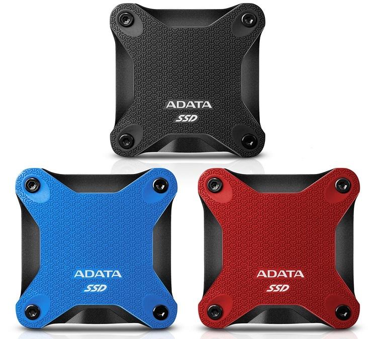 ADATA SD600Q: внешний твердотельный накопитель с оригинальным дизайном