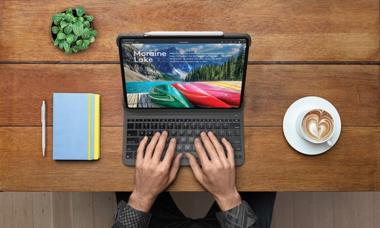 Logitech представила чехол со встроенной клавиатурой Slim Folio Pro для iPad Pro
