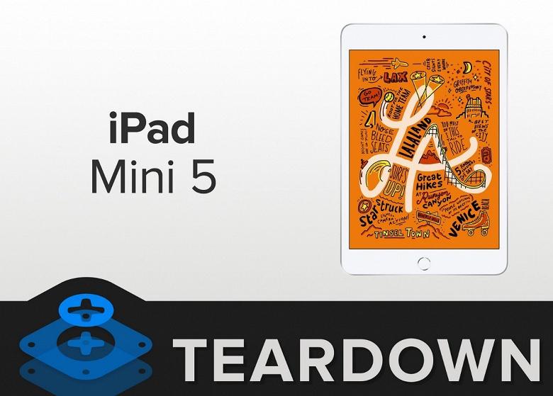Планшет iPad mini нового поколения всё так же практически неремонтопригоден