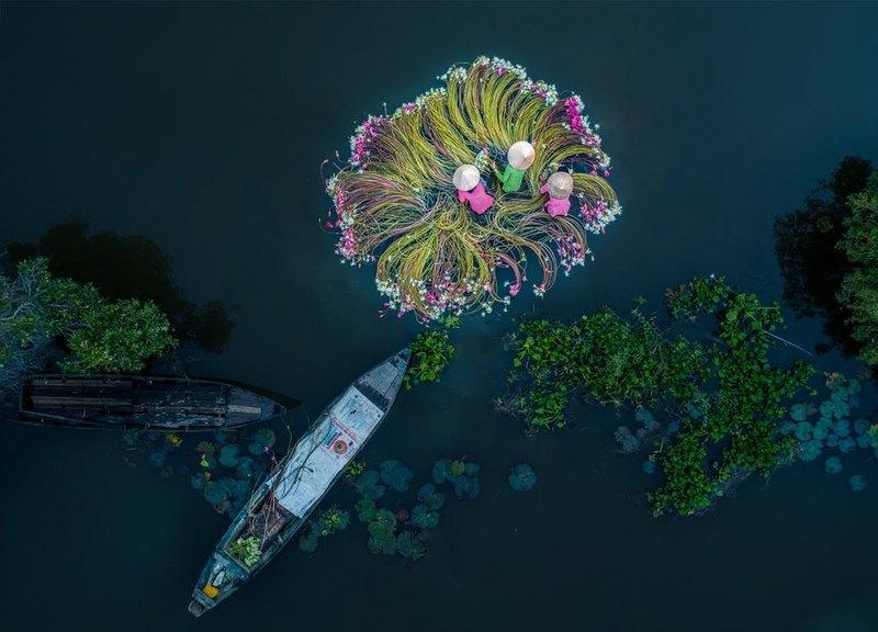 Потрясающие фотографии, сделанные с дронов - 5