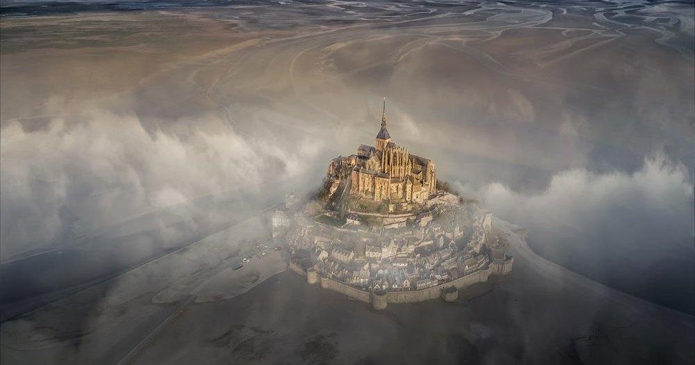 Потрясающие фотографии, сделанные с дронов