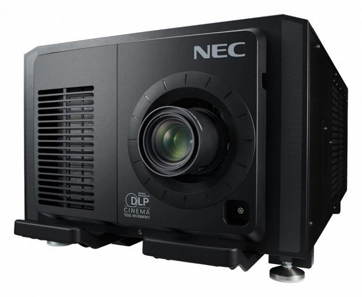 Производитель называет NEC NC2402ML первым в мире цифровым кинопроектором со сменным лазерным модулем