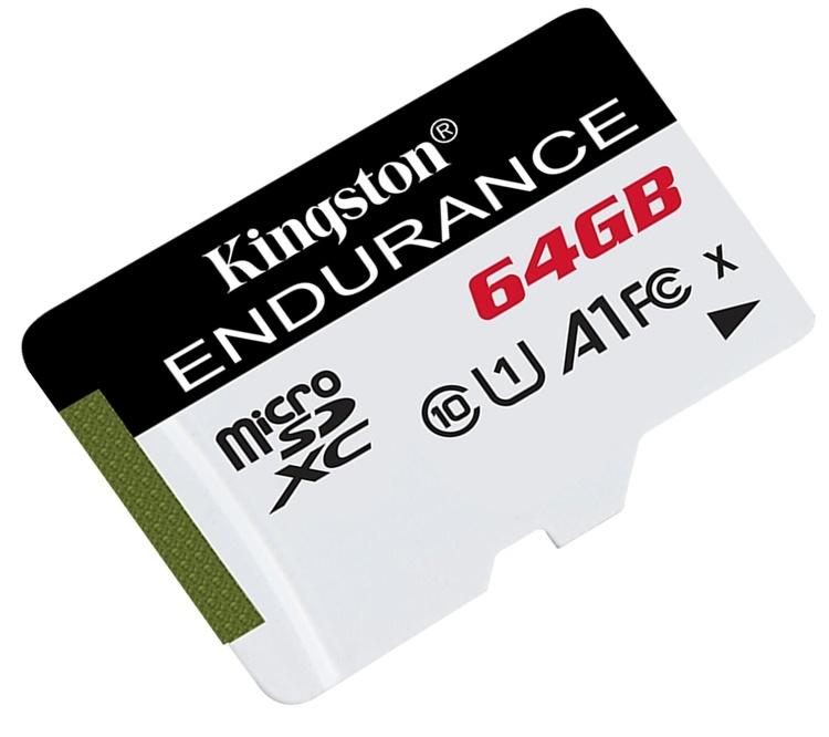 Kingston High Endurance: флеш-карты microSD повышенной надёжности