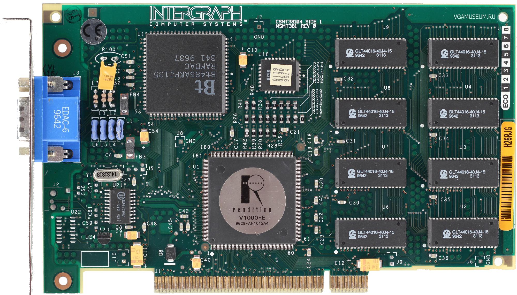 История первого GPU: Rendition Vérité 1000 - 5