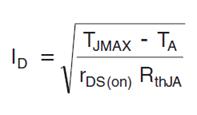 Максимальный постоянный ток через полевой транзистор - 9