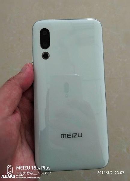 Наконец, появились качественные фотографии флагмана Meizu 16s