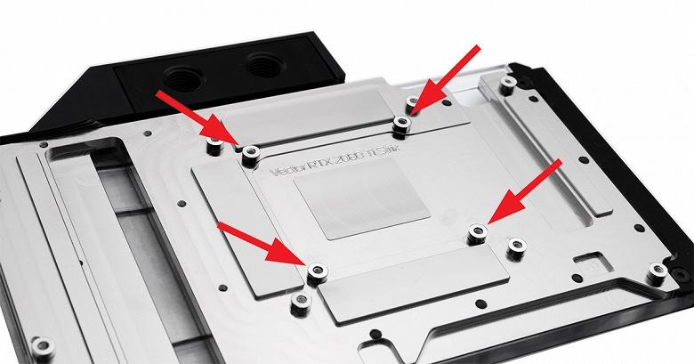 Небольшое изменение в 3D-карте ROG Strix GeForce RTX 2080 Ti ухудшило совместимость с водоблоками EK Water Blocks