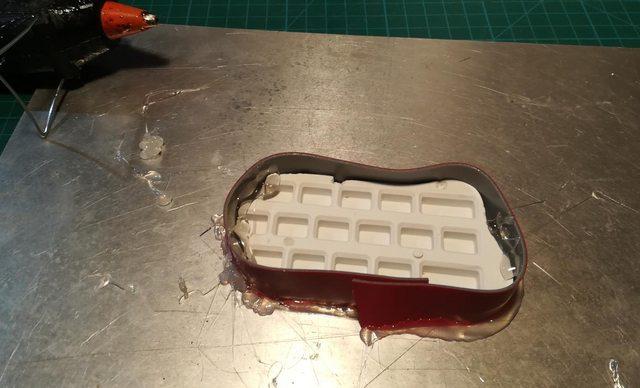 Изготовление реплик отсутствующих клавиш для «резиновой» клавиатуры Commodore 116 - 17