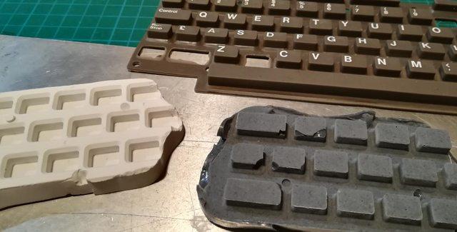 Изготовление реплик отсутствующих клавиш для «резиновой» клавиатуры Commodore 116 - 23