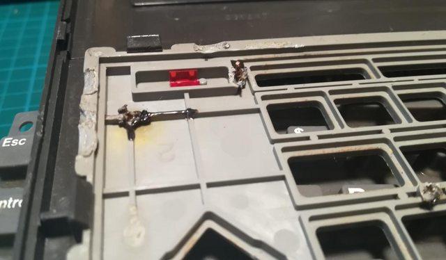 Изготовление реплик отсутствующих клавиш для «резиновой» клавиатуры Commodore 116 - 3