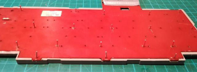 Изготовление реплик отсутствующих клавиш для «резиновой» клавиатуры Commodore 116 - 32
