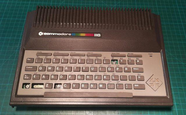 Изготовление реплик отсутствующих клавиш для «резиновой» клавиатуры Commodore 116 - 1