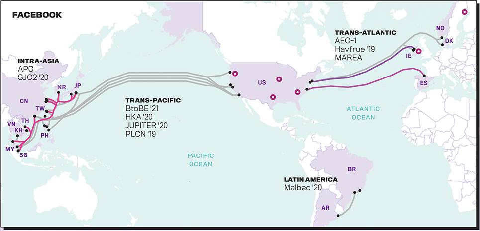 Вести со дна: IT-гиганты начали активно строить собственные подводные магистральные сети - 5