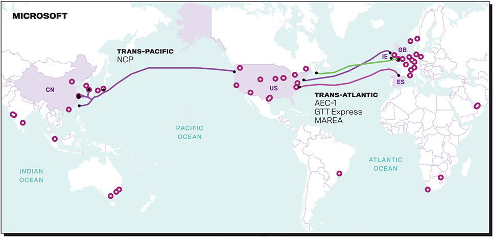 Вести со дна: IT-гиганты начали активно строить собственные подводные магистральные сети - 7
