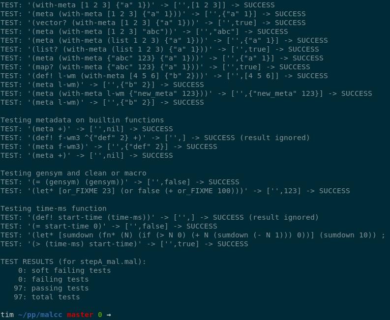 Мой компилятор для Lisp - 3