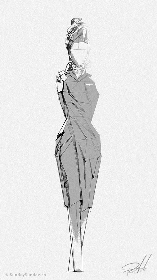 Дизайн низкополигональных персонажей - 2