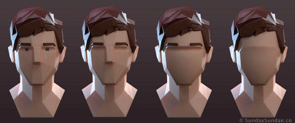 Дизайн низкополигональных персонажей - 4