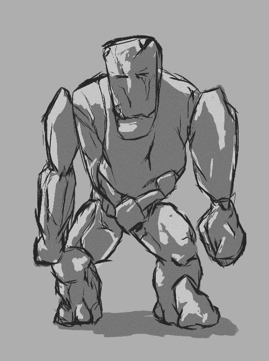 Дизайн низкополигональных персонажей - 8