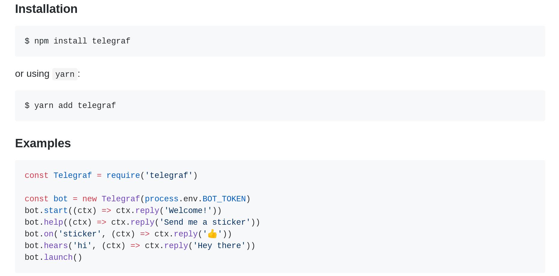 Руководство: как сделать простого бота для Телеграм на JS для новичка в программировании - 4