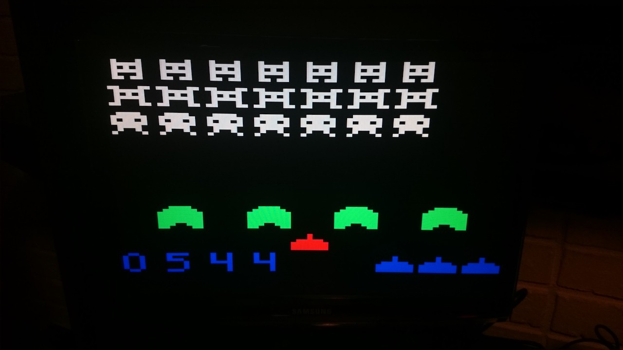 Ужать аналог Space Invaders в 1 килобайт (оригинал 1978 года занимает 8) - 1