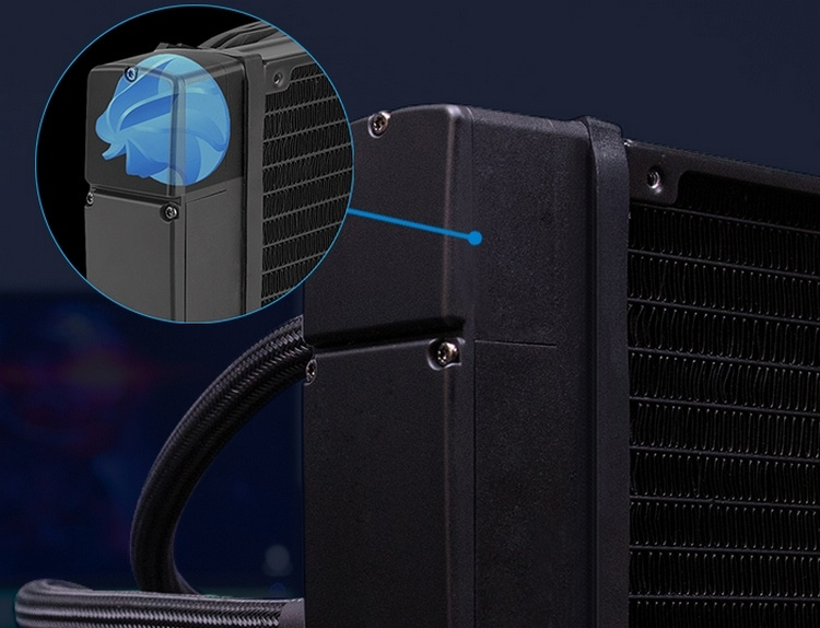Aerocool Pulse L240F и L120F: необслуживаемые СЖО с RGB-подсветкой