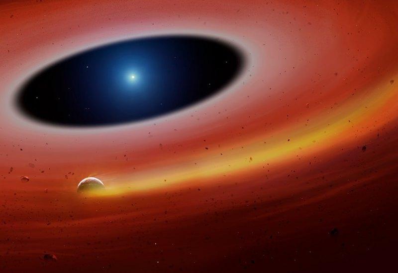 Рядом с белым карликом обнаружили ядро мертвой планеты