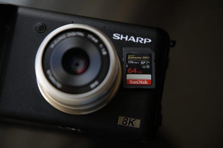 Sharp показала и рассказала о камере системы Micro Four Thirds, записывающей видео 8К