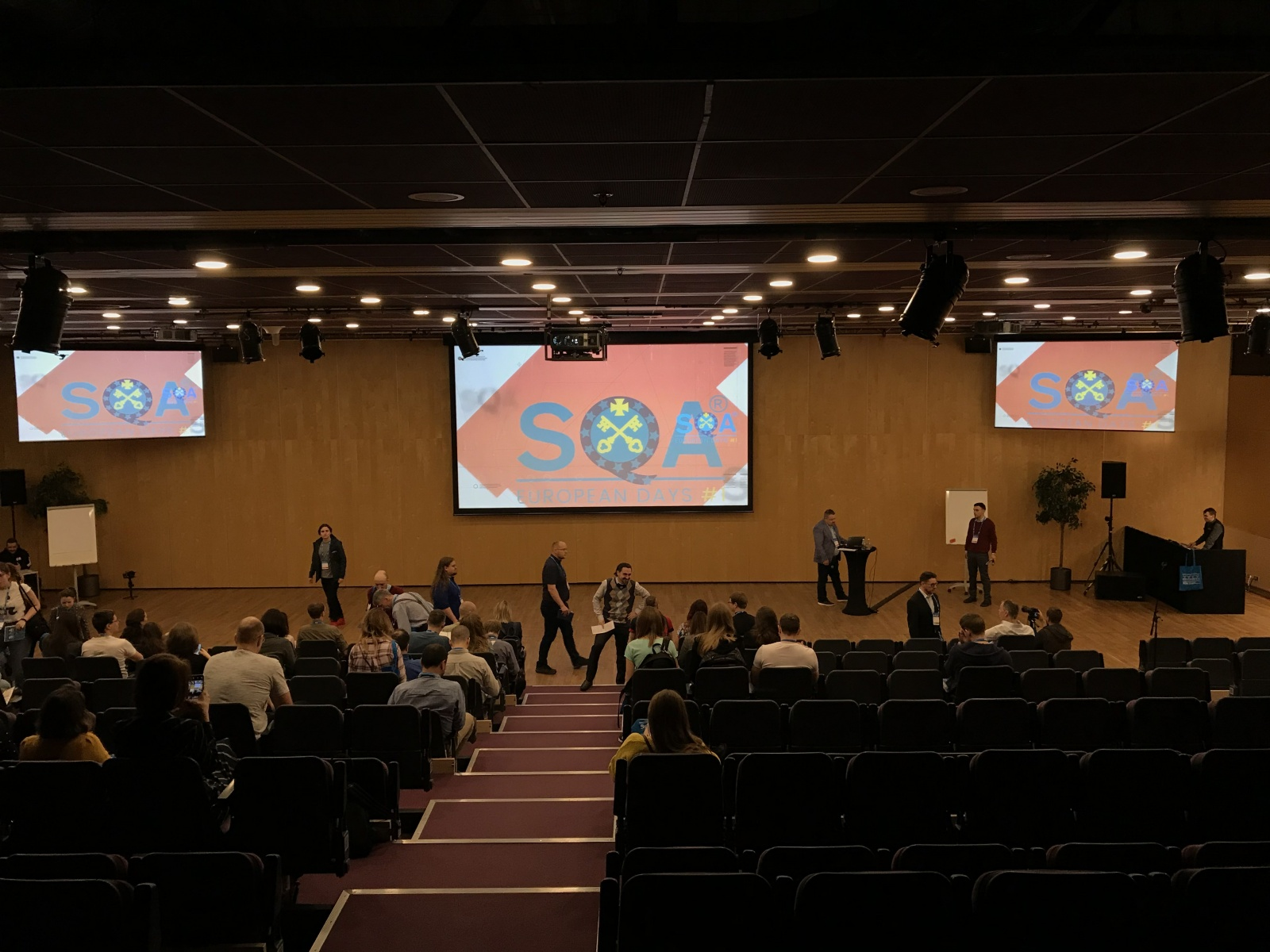 Обзор конференции SQA Days EU - 12