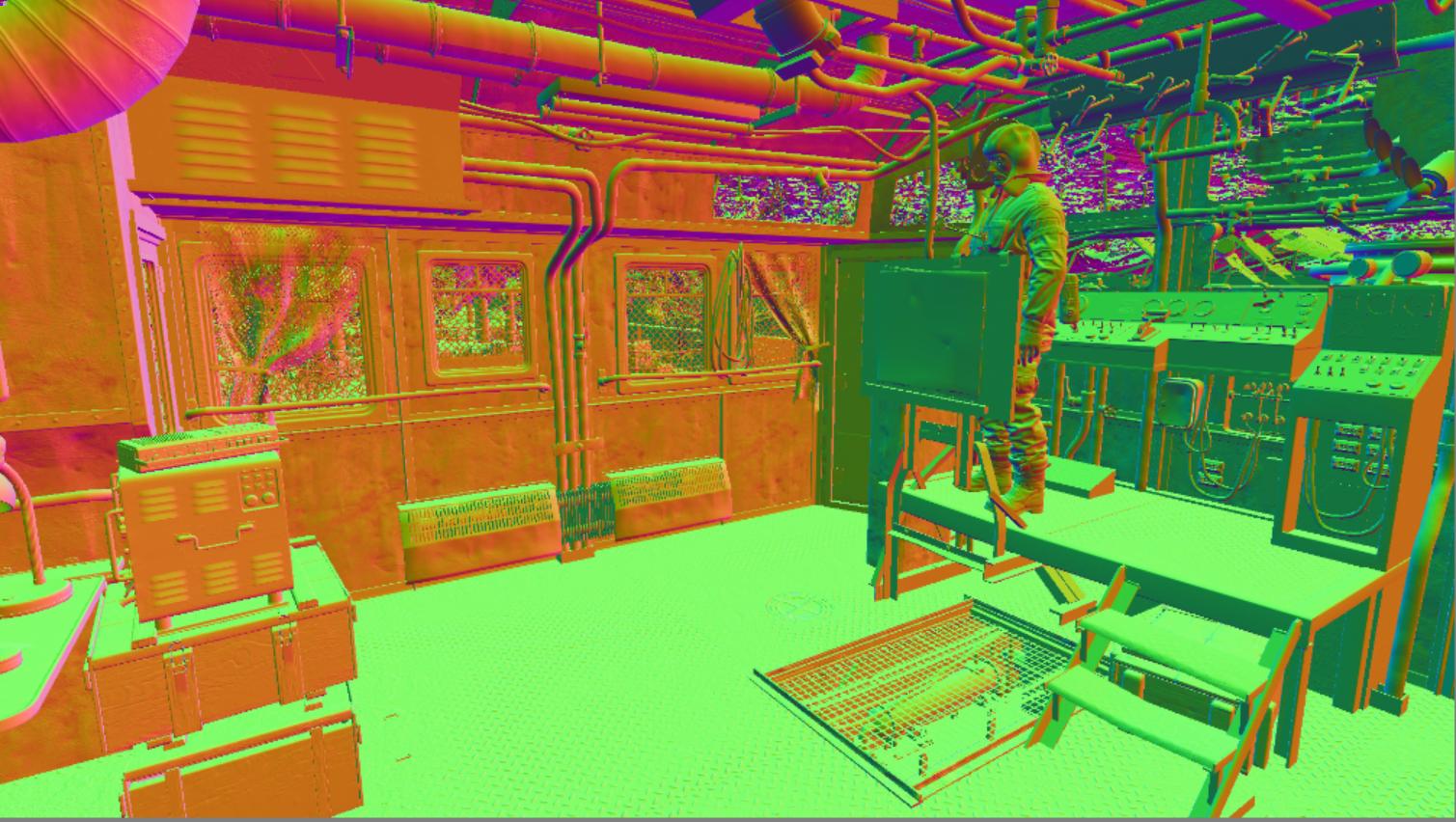Особенности рендеринга в игре Metro: Exodus c raytracing - 5