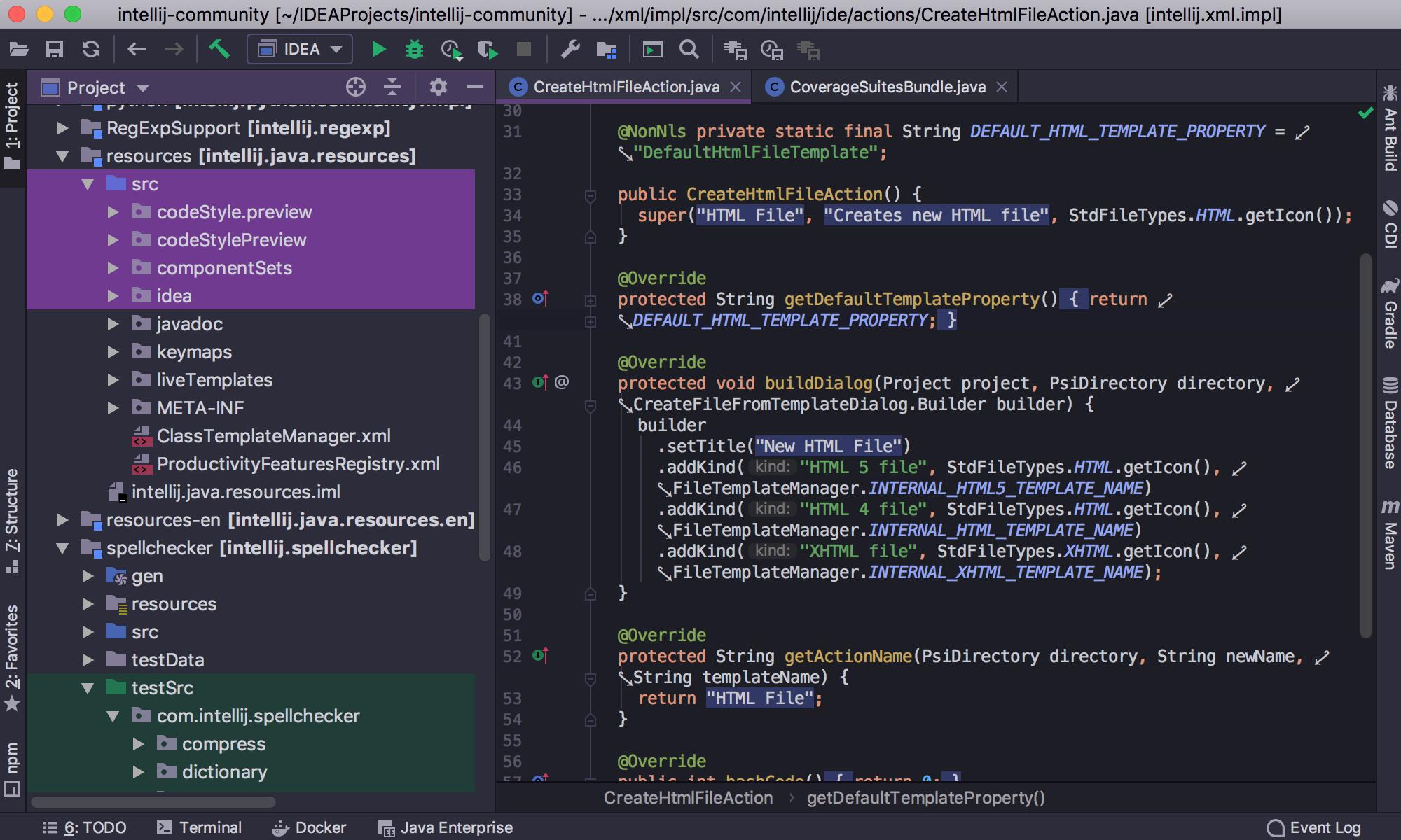 IntelliJ IDEA 2019.1: Кастомизация тем интерфейса, switch-выражения из Java 12, отладка внутри Docker-контейнеров - 2