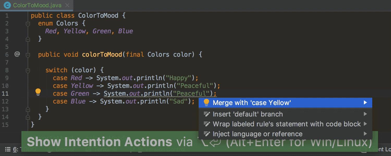 IntelliJ IDEA 2019.1: Кастомизация тем интерфейса, switch-выражения из Java 12, отладка внутри Docker-контейнеров - 3