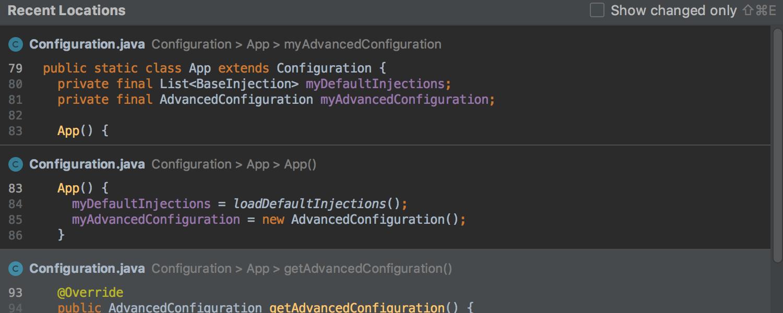 IntelliJ IDEA 2019.1: Кастомизация тем интерфейса, switch-выражения из Java 12, отладка внутри Docker-контейнеров - 8