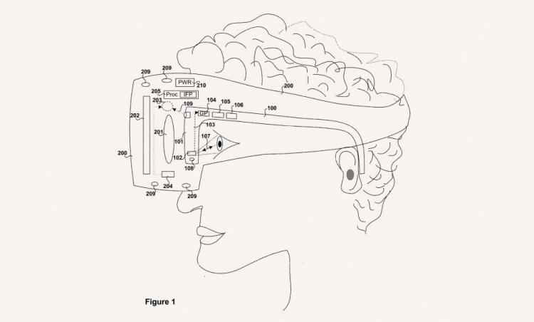 Sony запатентовала коррекционные очки для использования со шлемами VR