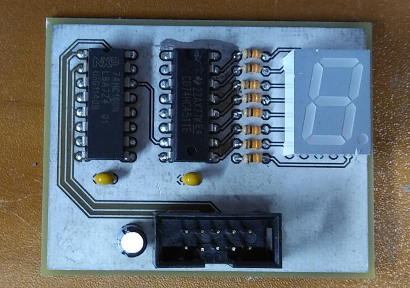 Миниатюрный функциональный аналог декатрона для реплики Harwell Dekatron Computer и не только - 3