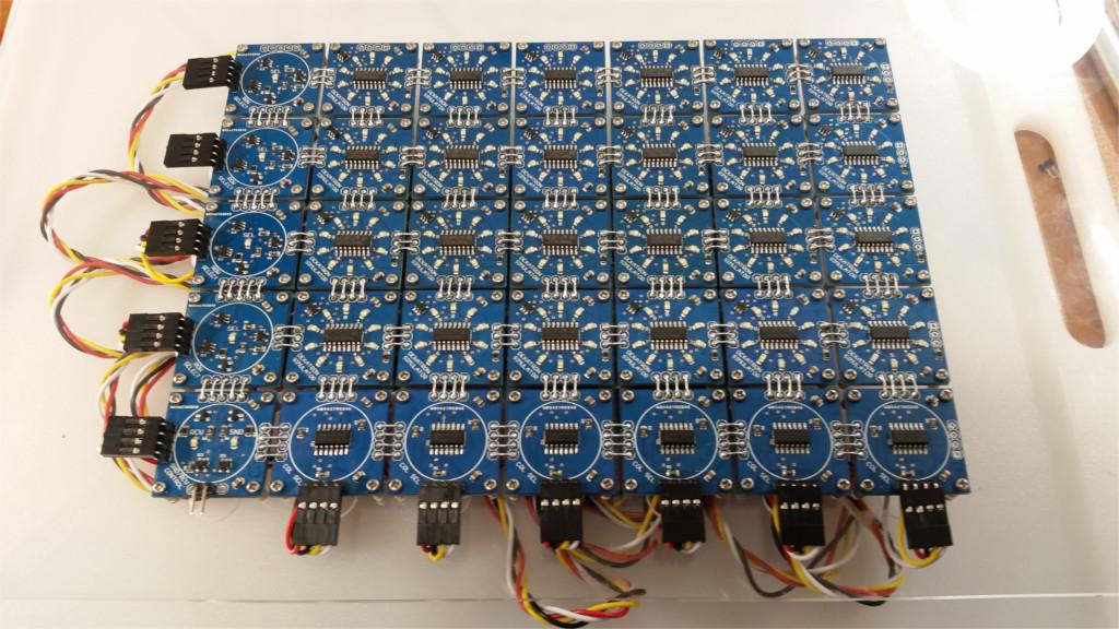 Миниатюрный функциональный аналог декатрона для реплики Harwell Dekatron Computer и не только - 6