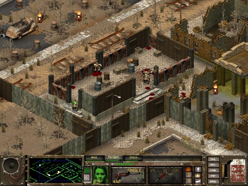 Полная история серии Fallout - 5