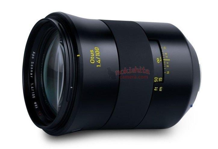 Появилось изображение и спецификации объектива Zeiss Otus 100mm f/1.4