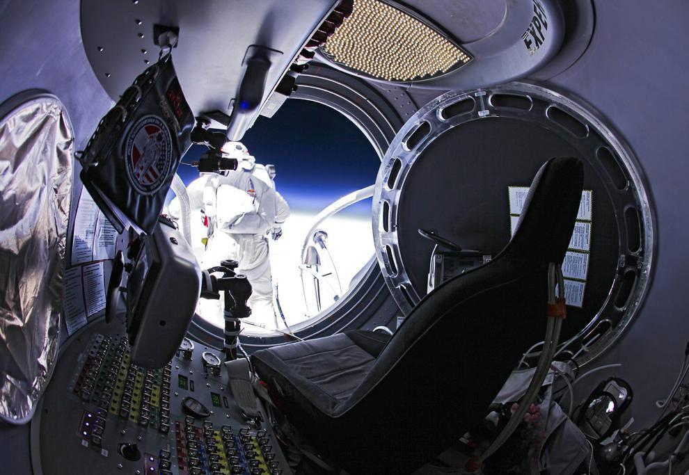 Прыжки из стратосферы - 1