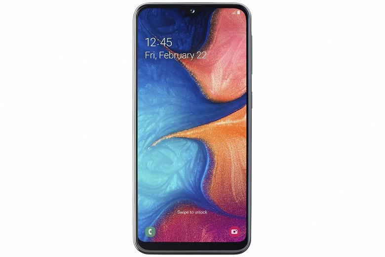 Урезали экран и аккумулятор. Доступный смартфон Samsung Galaxy A20e представлен официально