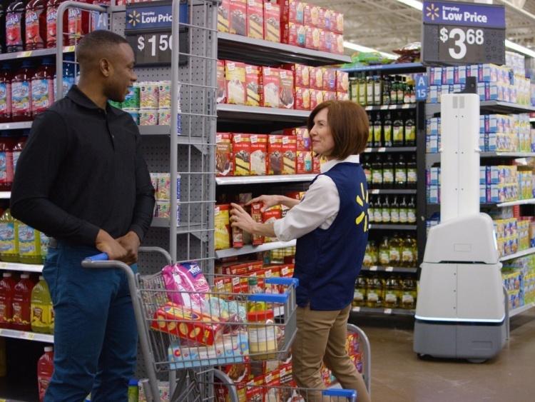 Вторжение роботов: ретейлер Walmart развернёт тысячи автоматизированных помощников