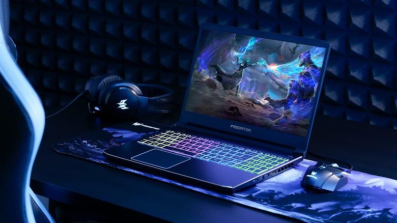 Acer Predator Helios 300 — относительно доступный геймерский ноутбук с новейшими GPU Nvidia