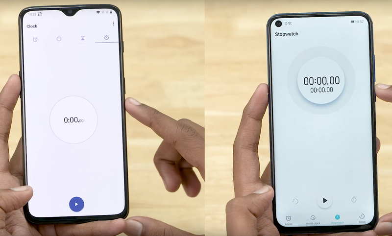 Honor View 20 против OnePlus 6T: тест на скорость